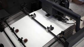 Printing Machine. stock footage