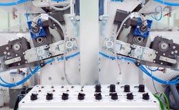 Printing Machine Details Stock Photo