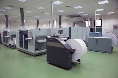 Printing machine: digital press Stock Photos