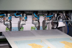 Printing machine: digital press Stock Image