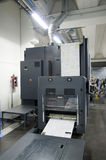 Printing machine: digital web press Royalty Free Stock Photo