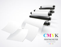 Printing machine Royalty Free Stock Photo