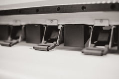 Printing machine stock photos