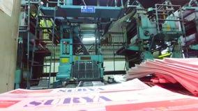 Printing machine stock footage