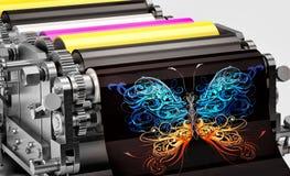 Printing machine Stock Images