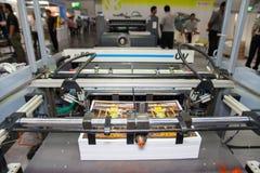 Printing machines slot Royalty Free Stock Photos