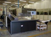 Printing - Offset press Stock Photo