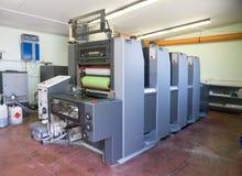 Printing - Offset press, detail Stock Images