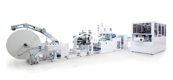 Printing and packaging machines Royalty Free Stock Image