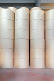 Printing paper rolls Stock Photos