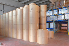 Printing Paper Rolls Stock Images