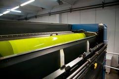 Printing plant - Offset press machine Stock Photography
