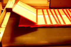 Printing press Royalty Free Stock Photo