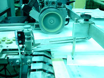 Printing press. At publishing house royalty free stock photography