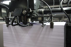 Printing press Stock Photography