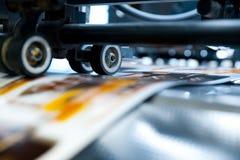 Printing press stock photos