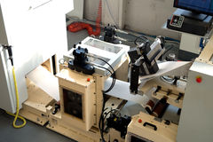Printing Press - Machine for paper napkins Stock Images