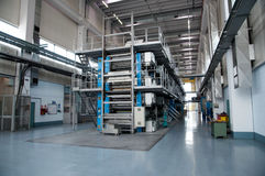 Printing press - Newspaper press line Stock Photography