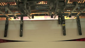 Printing press stock video