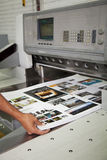 Printing processes Stock Images