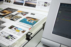 Printing processes Royalty Free Stock Images
