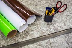 Printing workshop Stock Images