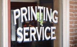 Printingservice royaltyfri bild