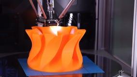 printingteknologi för skrivare 3d stock video