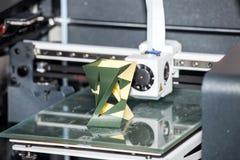 printingteknologi för skrivare 3d Arkivbild