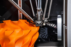 printingteknologi för skrivare 3d Royaltyfri Foto