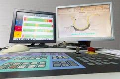 Printng prasy koloru zarządzania kontrolna jednostka. Zdjęcie Royalty Free