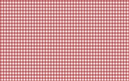 Red and white gingham seamless pattern. Texture from rhombu. S/squares for - plaid, clothes, shirts, dresses, paper, bedding, blankets, quilts and other textile royalty free illustration