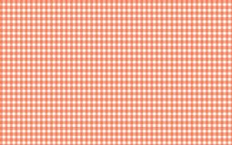 Red and white gingham seamless pattern. Texture from rhombu. S/squares for - plaid, clothes, shirts, dresses, paper, bedding, blankets, quilts and other textile vector illustration