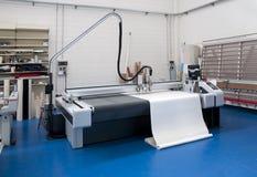 printshop прокладчика вырезывания Стоковое фото RF