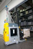 Printshop: Automated warehouse (for paper) Stock Photo