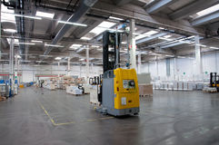 Printshop: Automated warehouse (paper) Royalty Free Stock Image