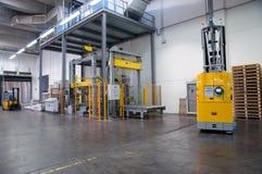 Printshop: Automatiserat lager (för papper) Royaltyfri Fotografi