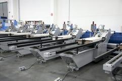 Printshop - Finishing line Stock Image