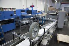 Printshop - Finishing line Stock Images