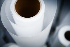Printshop paper roll Stock Photo
