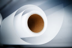 Printshop paper roll Stock Photos