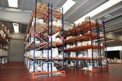 Printshop: paper warehouse Royalty Free Stock Photography