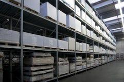 Printshop: paper warehouse Royalty Free Stock Photos
