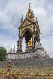 Prinz Albert Memorial im Fell-Park, London, Großbritannien lizenzfreie stockfotografie
