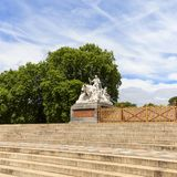 Prinz Albert Memorial, Kensington-Gärten, London, Vereinigtes Königreich lizenzfreies stockfoto