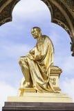 Prinz Albert Memorial, Kensington-Gärten, London, Vereinigtes Königreich Stockbilder
