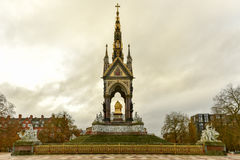 Prinz Albert Memorial - London lizenzfreie stockfotografie
