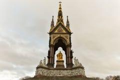 Prinz Albert Memorial - London lizenzfreie stockfotos