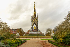 Prinz Albert Memorial - London stockfotos