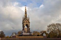 Prinz Albert Memorial in London - Großbritannien Stockfoto